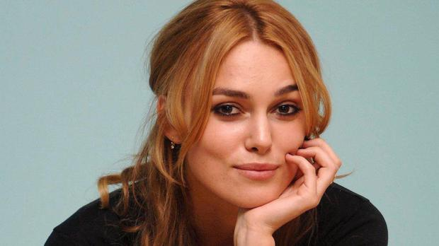 Keira Knightley appeared on the Jonathan Ross Show.