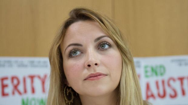 Charlotte Church said the number of people sleeping rough in Cardiff had doubled in the last 12 months