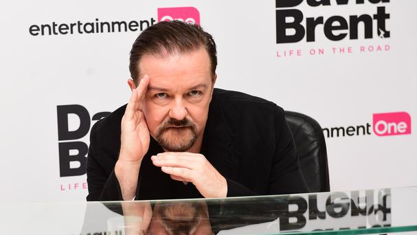 Ricky Gervais urged X Factor contestants to learn a trade