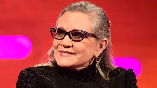 Carrie Fisher was speaking on The Graham Norton Show