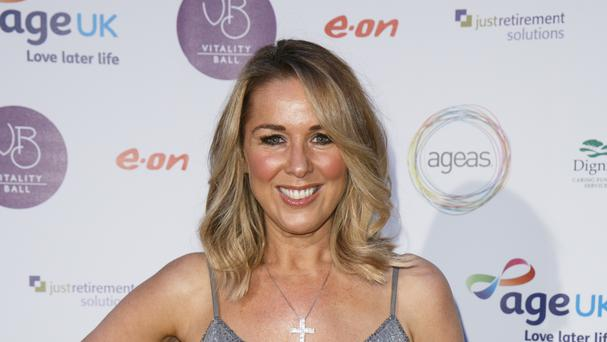 Claire Sweeney spoke about becoming a mother and how it has changed her