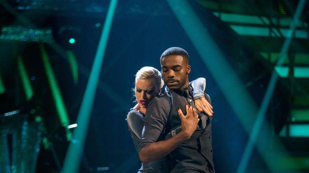Joanne Clifton and Ore Oduba are tilting for the glitterball