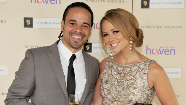 It is Kimberley Walsh's second child with husband Justin Scott