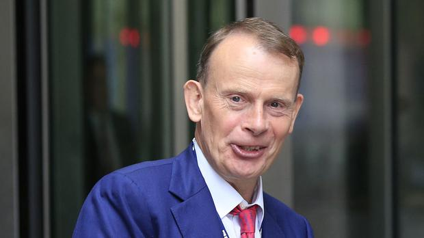 Andrew Marr remains semi-paralysed on his left side after a stroke