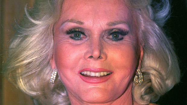 Zsa Zsa Gabor pictured in 1993 - her widower has told how she died of a heart attack aged 99
