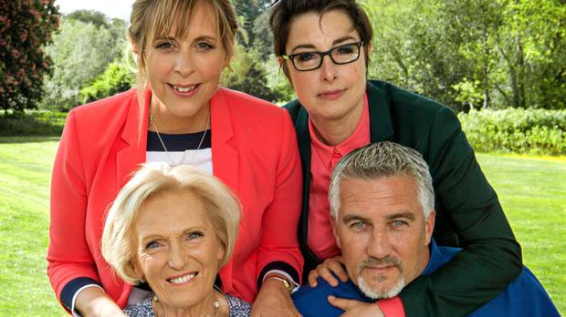 Paul Hollywood, Sue Perkins, Mary Berry and Mel Giedroyc (BBC/PA)