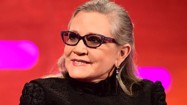 Carrie Fisher has died aged 60