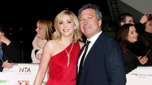 MasterChef judge John Torode and his partner Lisa Faulkner