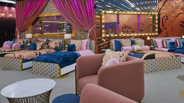 The inside of the house for Celebrity Big Brother 2017 (Channel 5/PA)