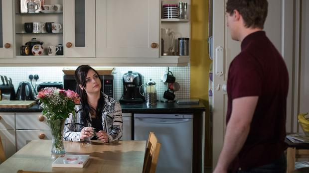 Lee Carter, played by Danny-Boy Hatchard with on-screen wife Whitney (actress Shona McGarty) (BBC)