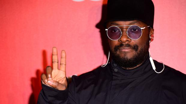 Will.i.am attending The Voice UK launch