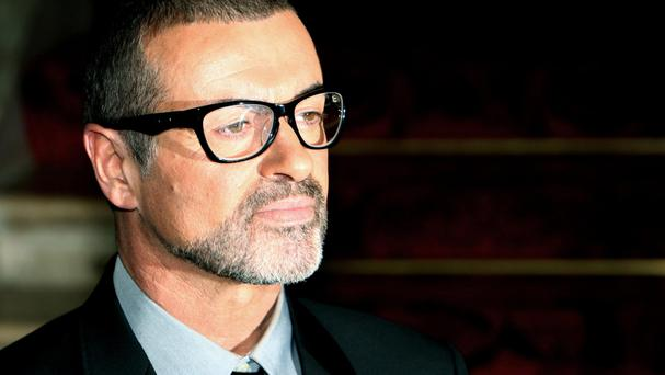 Singer George Michael who died at his home in Oxfordshire