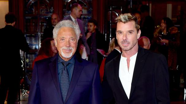 Sir Tom Jones and Gavin Rossdale appear on the Voice UK