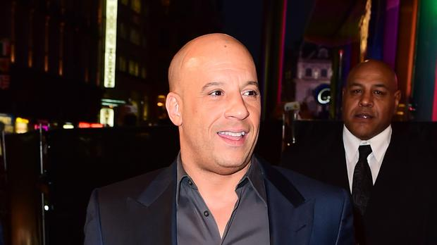 Vin Diesel has attended the premiere of xXx: Return Of Xander Cage