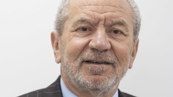 Lord Sugar made jokes about a corn on his toe