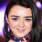 Maisie Williams plays Arya Stark in the fantasy series Game Of Thrones