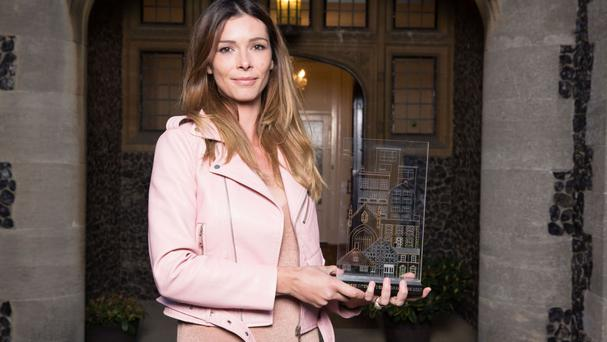 former fashion stylist Daniela Tasca-York who has been crowned the winner of BBC2's The Great Interior Design Challenge (Plank PR)