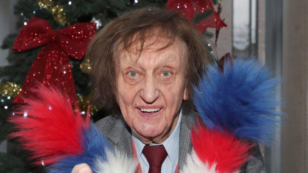 The comedy hero was awarded a knighthood in the new year honours list