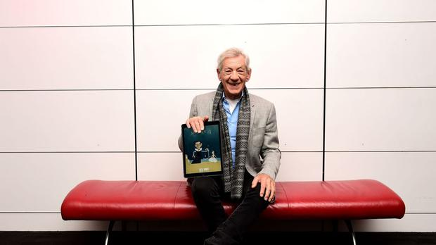 Sir Ian McKellen has said he is