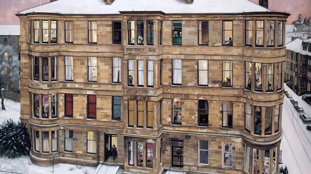 A reproduction of Windows On The West has been signed by the cast of Trainspotting film (Zude PR/PA Wire)