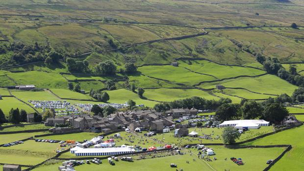 The author and TV presenter lives and works in the Yorkshire Dales
