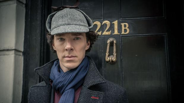 Benedict Cumberbatch as Sherlock Holmes in the hit television show Sherlock (BBC/PA)