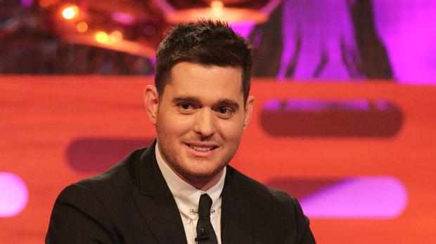 Singer Michael Buble said his 'brave' three-year-old Noah was doing well with his cancer treatment