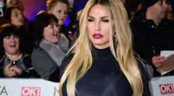 Katie Price said she and Simon Cowell went to his London mansion after the Comedy Awards in 2003