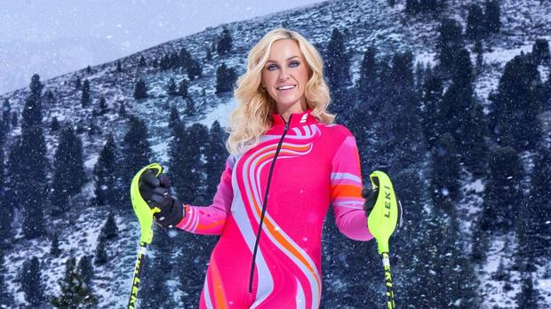 Josie Gibson was the first contestants to leave this year's Channel 4 reality sport show The Jump (Channel 4/PA)