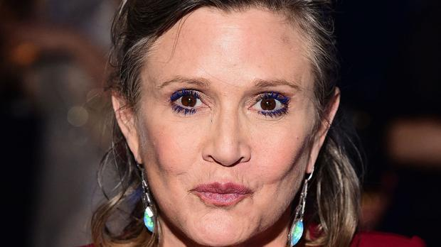 The show finished filming just days before the Star Wars actress had a heart attack