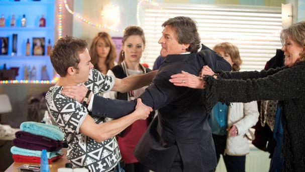 Nigel Havers played Lewis Archer in Coronation Street in 2009 and 2010 (ITV/PA)