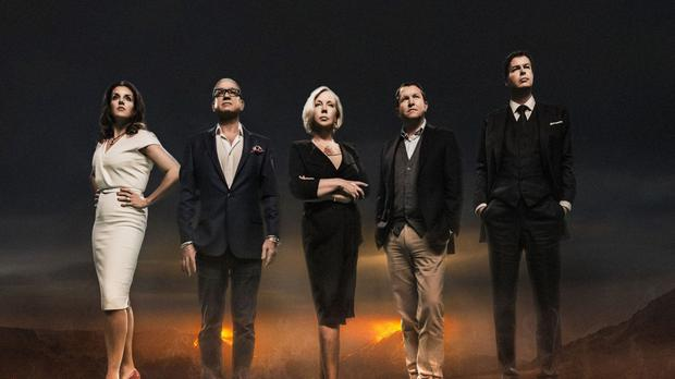 The Dragons' Den team uses low energy lighting which keeps temperatures - and the pressure on contestants - down (BBC/PA)