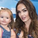 Tamara Ecclestone and daughter Sophia attend the UK premiere of Finding Dory