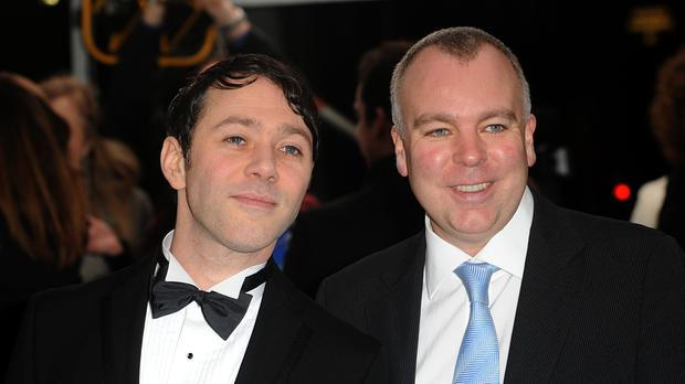 Steve Pemberton, right, and Reece Shearsmith also wrote League Of Gentlemen