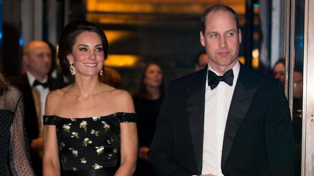 The Duke and Duchess of Cambridge attended the Baftas
