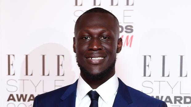 Stormzy was flooded with messages of support after claiming his front door was broken down by police