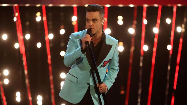 Robbie Williams will perform with his former Take That bandmates during the final of Let It Shine