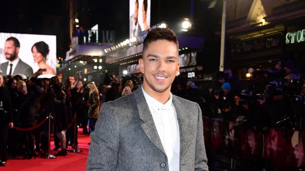 Matt Terry arriving for the Fifty Shades Darker European Premiere held at Odeon Leicester Square, London.
