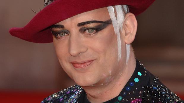 Boy George said the clashing