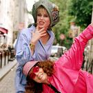 Patsy and Edina, as played by Joanna Lumley and Jennifer Saunders
