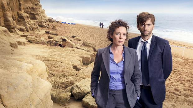 Olivia Colman and David Tennant are returning as Detective Sergeant Ellie Miller and Detective Inspector Alec Hardy in Broadchurch (ITV/PA)