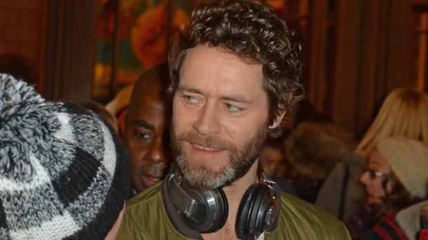 Howard Donald shared the happy news hours after the birth on Tuesday