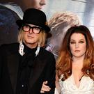 Lisa Marie Presley and Michael Lockwood