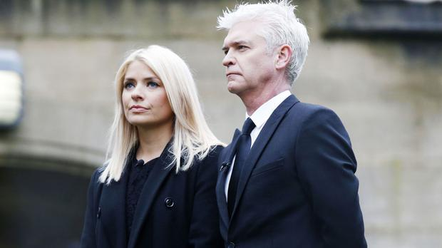 Holly Willoughby and Phillip Schofield heard how 14-year-old Megan Evans was told to hang herself