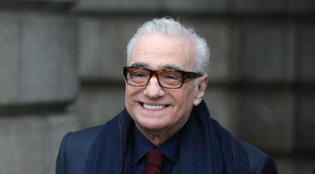 Film director Martin Scorsese was at Trinity College Dublin