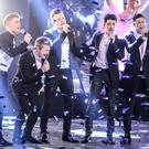 Five To Five perform on the final of Let It Shine (BBC/PA Wire)