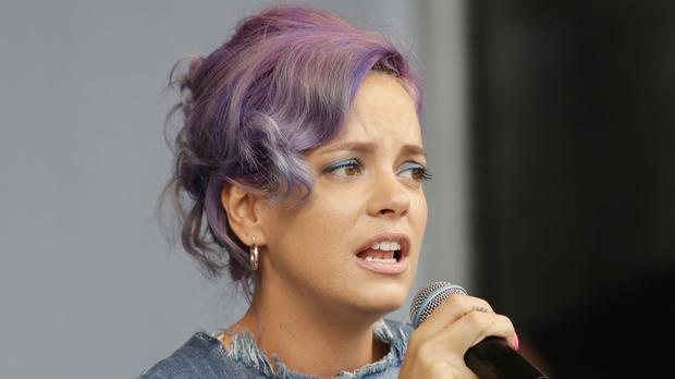 Lily Allen posted tweets replacing the word 'immigrants' or 'Muslims' with 'pensioners'