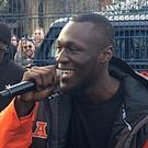 Stormzy's debut album is heading for the number one spot