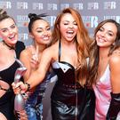 Little Mix's Perrie Edwards (L - R), Leigh-Anne Pinnock, Jesy Nelson and Jade Thirlwall