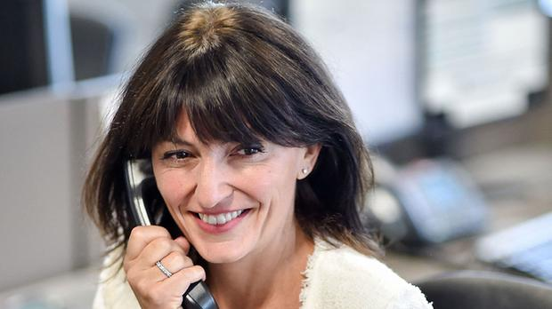 Davina McCall has visited Africa as part of Comic Relief